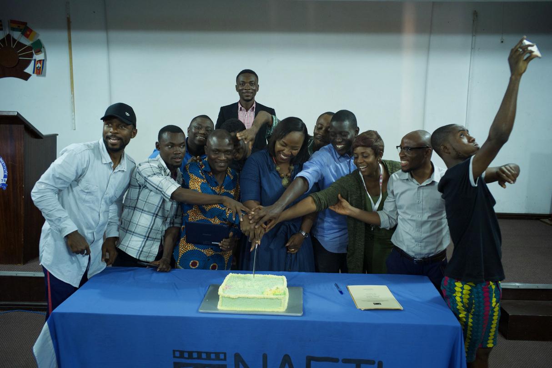 StoryLab Ghana participants